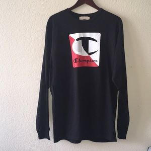 Champion long-sleeve T-shirt XL